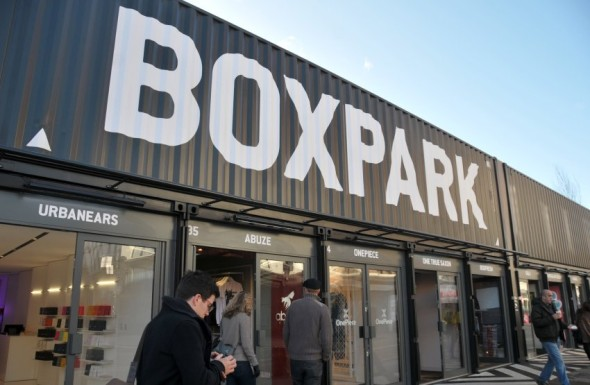 BoxPark / London / Shoreditch